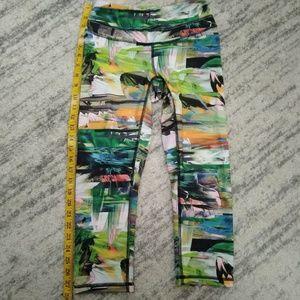 Lucy Athletic tropical capri leggings ! Sz S/XS